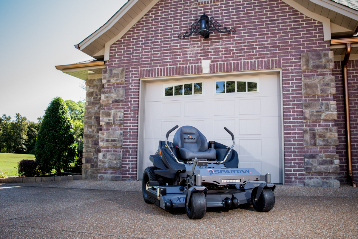 Spartan's residential zero turn mower
