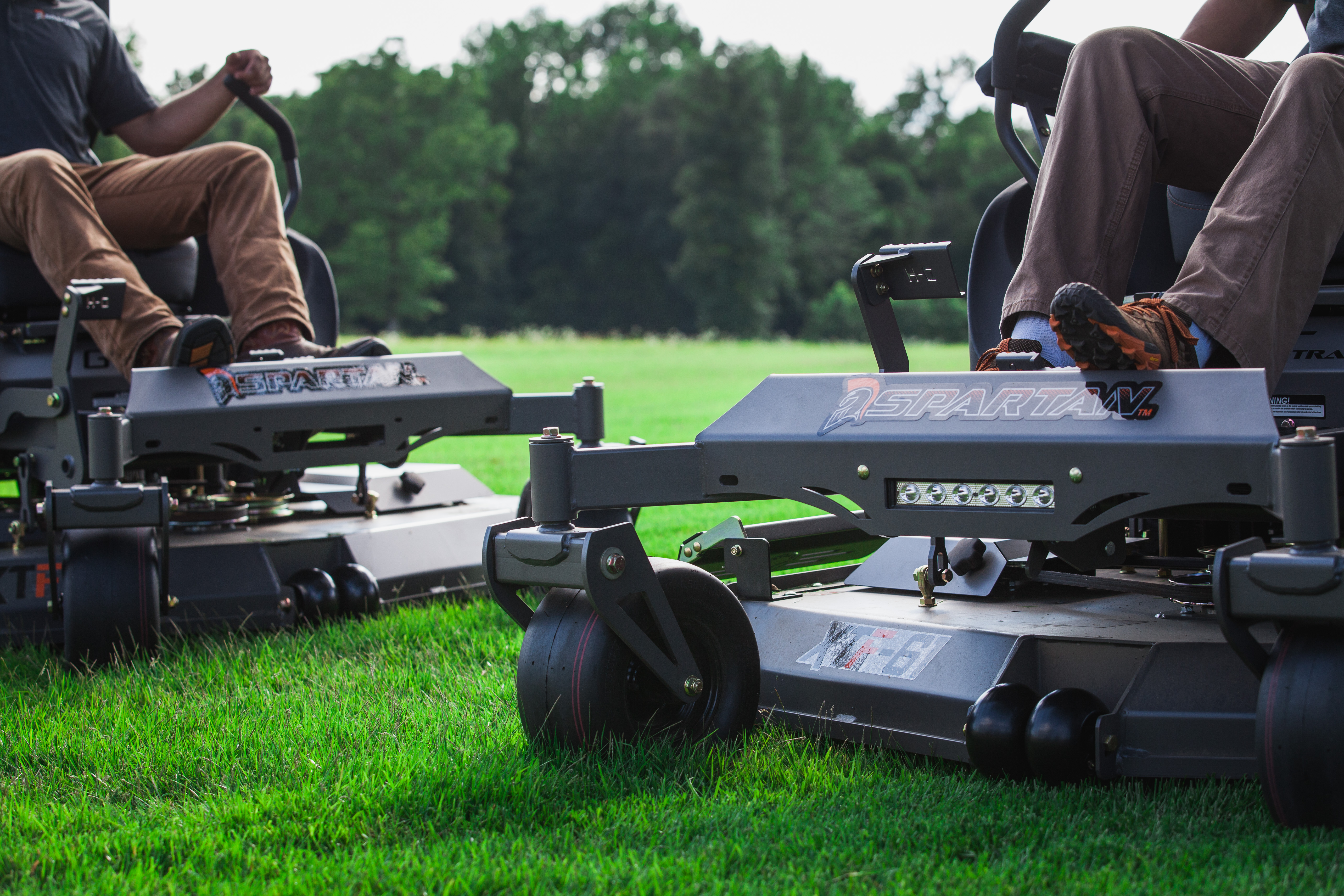 Compare Spartan Zero Turn Mowers on our website.