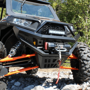 Bad Dawg Heavy Duty Front Bumper w| Winch Mount - Polaris RZR XP 1000 | S 1000 | S 900