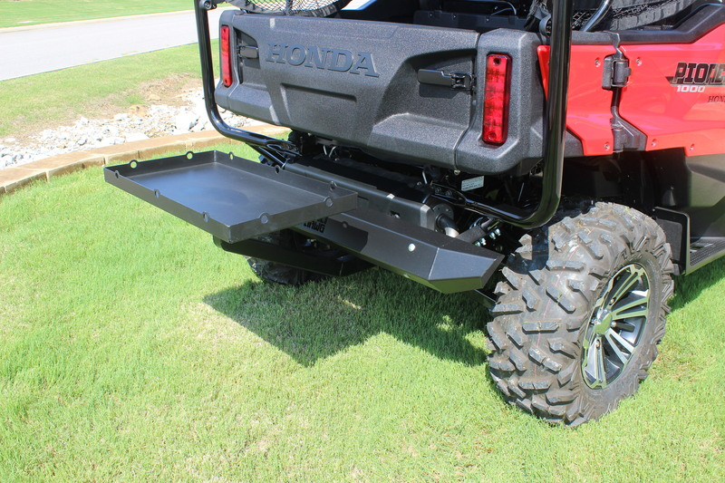 honda pioneer 1000 rear cargo accessory tray - bad dawg ...  honda pioneer cargo tray