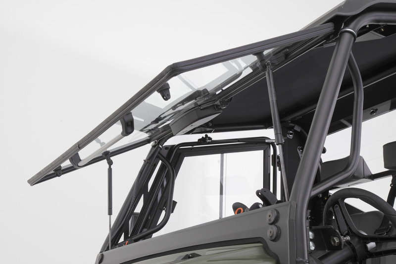 Tilting Glass Front Windshield