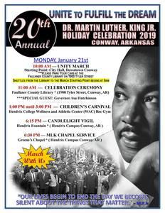 Dr. Martin Luther King Jr. Holiday Celebration 2019