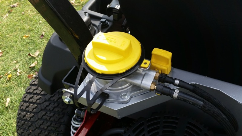 Spartan Mowers and the NEW Vanguard Oil Guard System