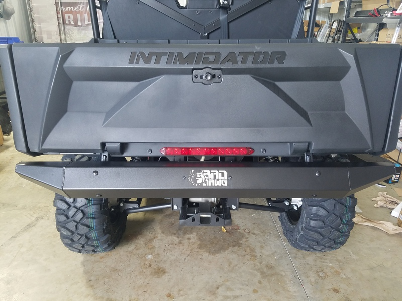 Intimidator GC1K Rear Bumper