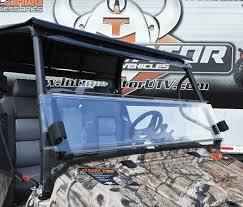 GC1K Front Folding Windshield