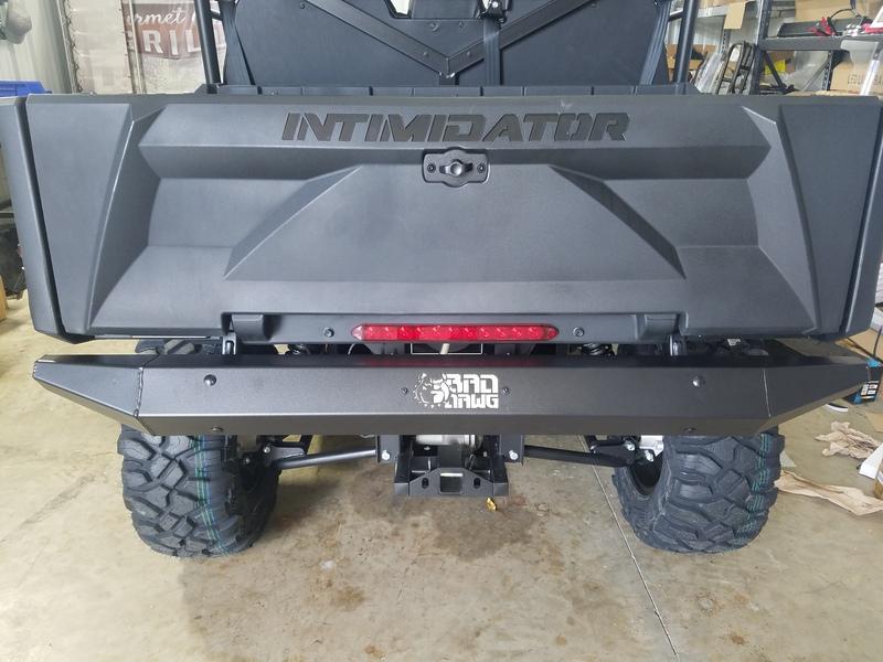GC1K Rear Bumper