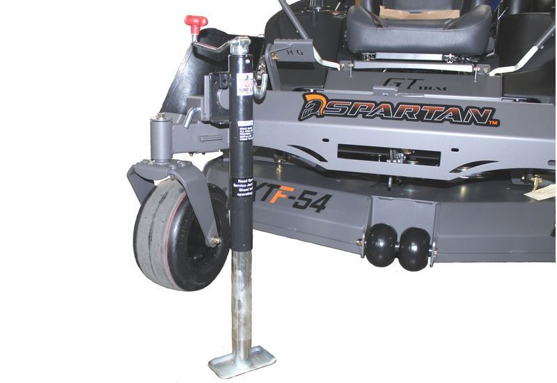 Side Mount Jack With Receiver Spartan Mowers Zero Turn