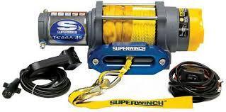 Super Winch Terra 45 4500 Synethtic Rope