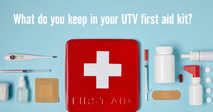 FIRST AID KIT FOR UTVs