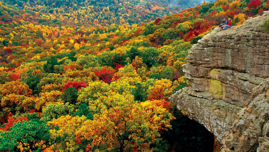 Scenic Arkansas Fall Foliage - #DFRV