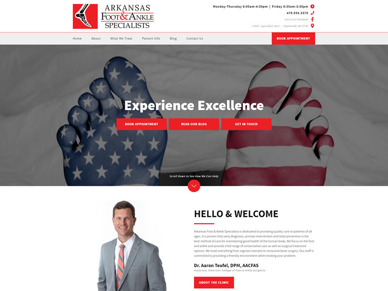 Arkansas Foot & Ankle Specialists