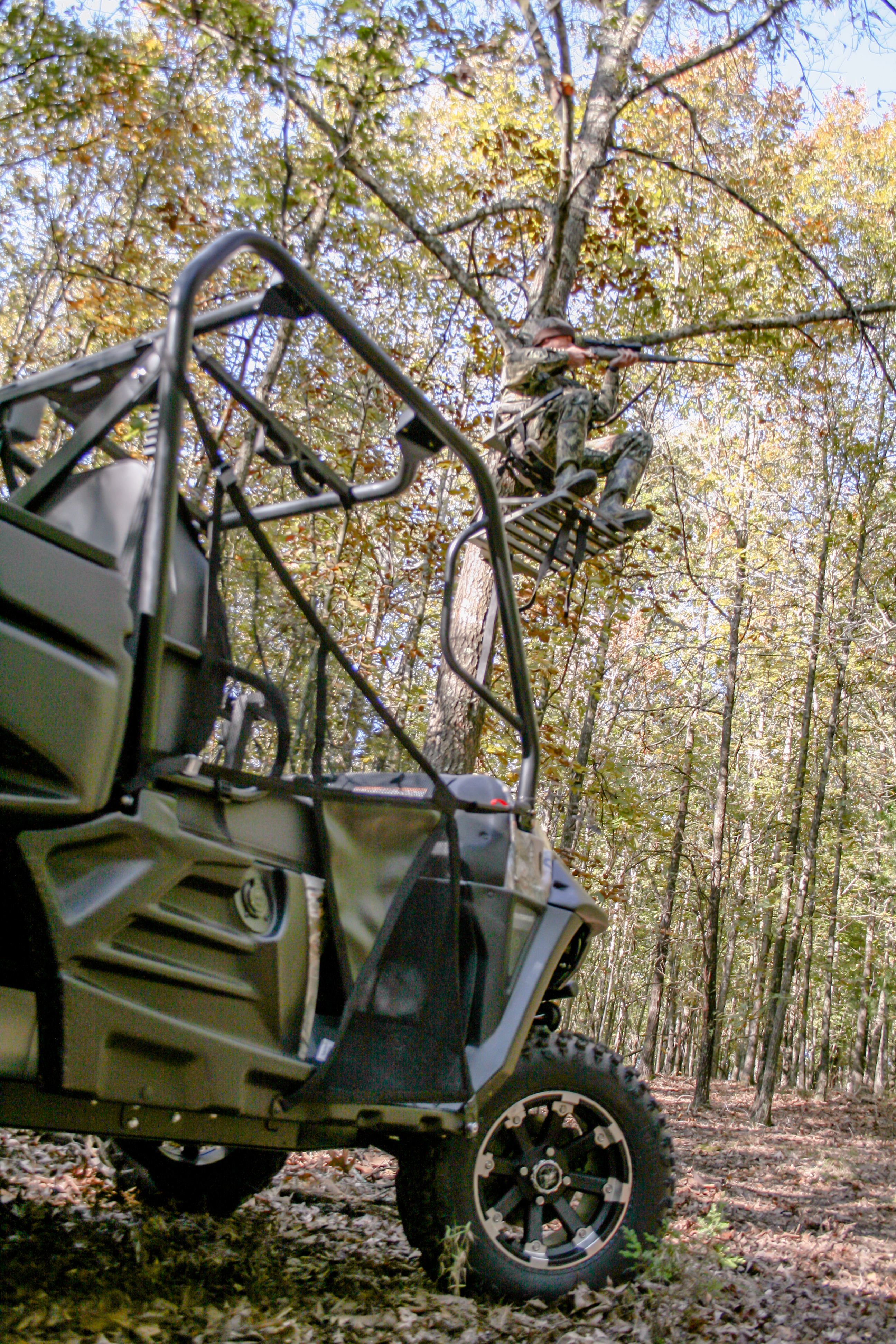 THE UTV AND HUNTING