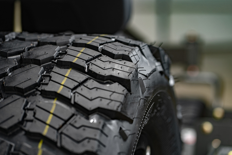 Rear Radial Tires