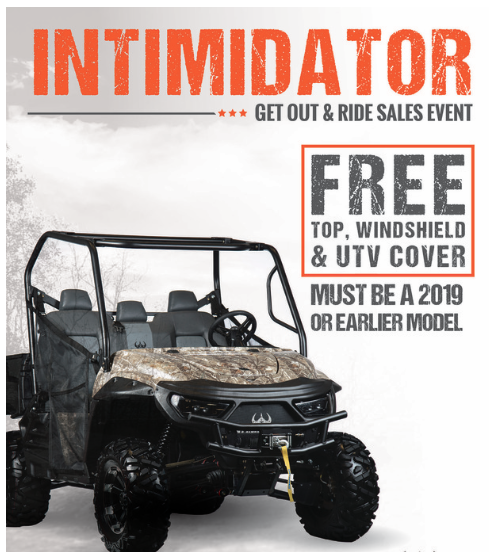 GIVE AN INTIMIDATOR FOR THE HOLIDAYS!