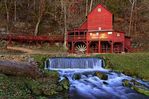 Hodgson Water Mill, Dora, MO
