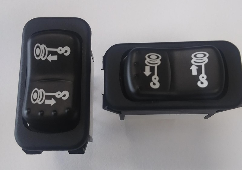 Winch Dash Mount Rocker Switch