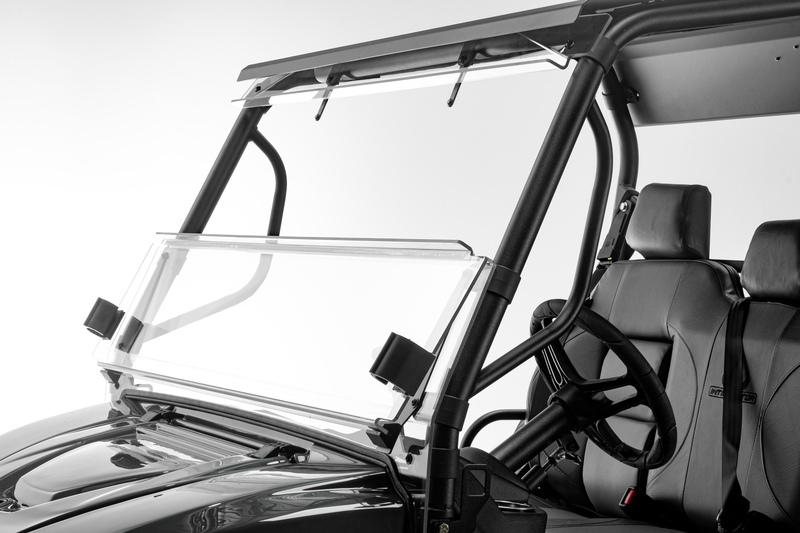 Intimidator Front Folding Lexan Windshield