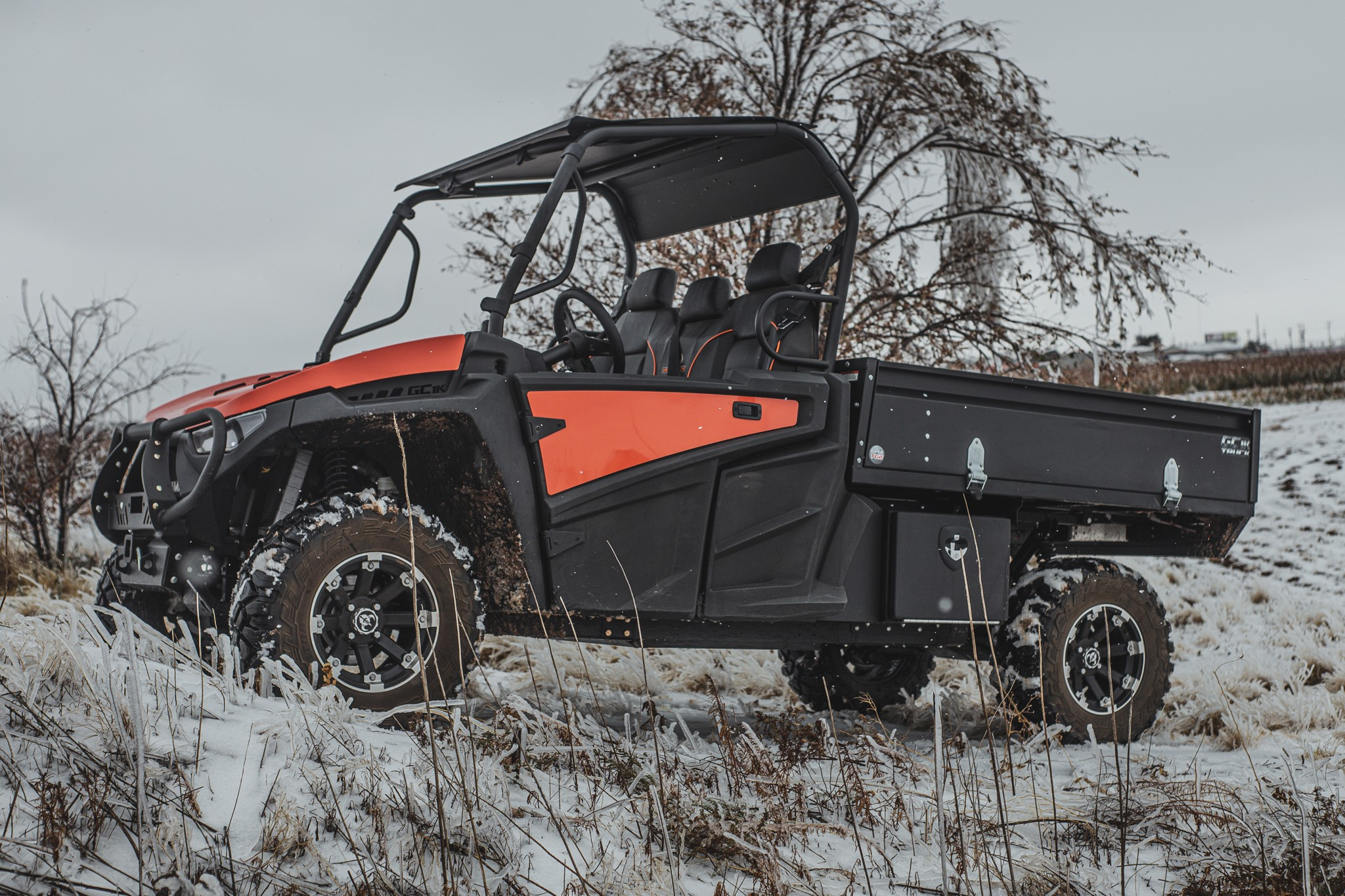 HOW TO ENJOY YOUR UTV   IN THE WINTER