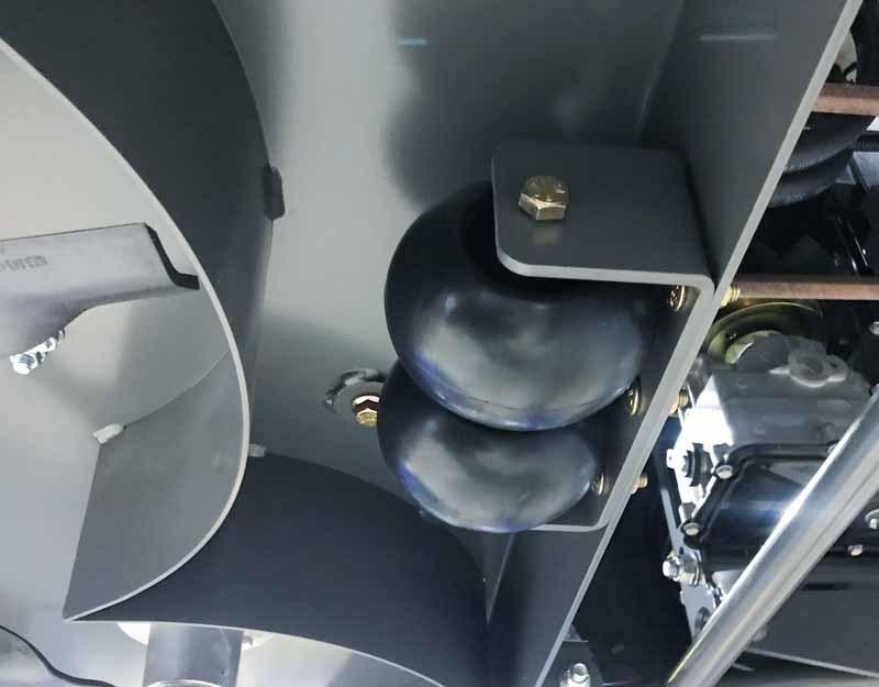 Rear Anti-Scalp Assembly