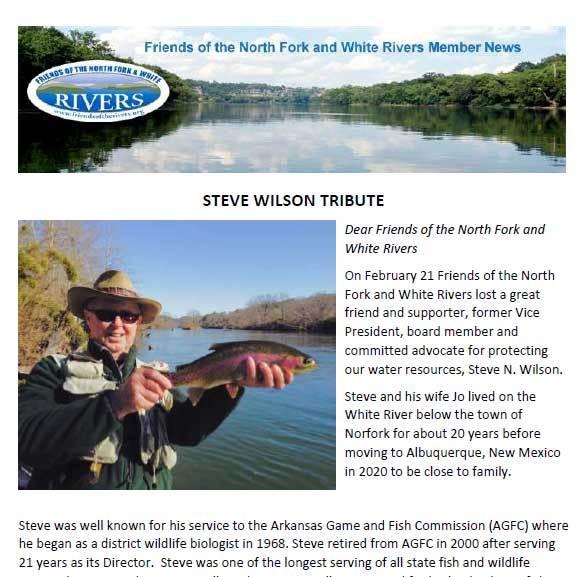 Tribute to Steve Wilson