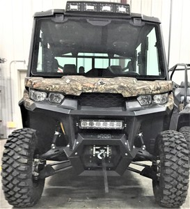 Can Am Defender Front Square Tube Bumper
